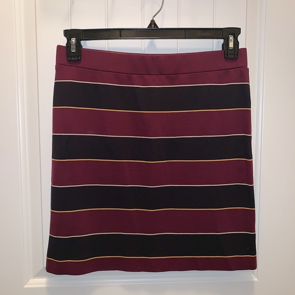 Fossil Dresses & Skirts - Fossil Striped Bodycon Skirt
